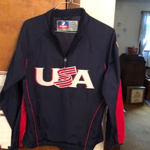 MAJESTIC Team USA windbreaker
